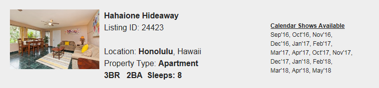 Honolulu-HI-Snowbird-Rental