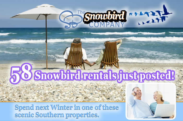 2017 Vacation Rentals - Snowbird Monthly and Multi-Month
