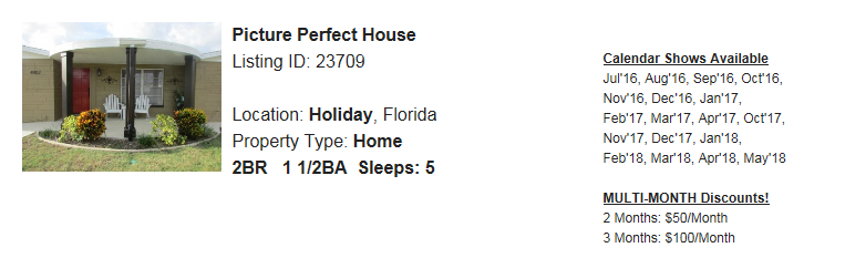 Holiday-FL-Snowbird-Rental